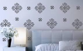 large damask wall decals art decor ideas