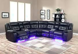 black leather reclining sofa. Black Sectional Reclining Sofas Leather Recliner With Cup Holder Image Of Recliners And Sofa