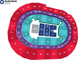 Key Arena Detailed Seating Chart Seat Section Search Qudos Bank Arena