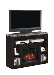 47 5 adams coffee black entertainment center electric fireplace