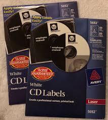 Avery Dennison 5692 Cd Label Ebay