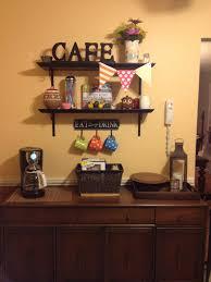 Coffee Kitchen Theme Decor Kitchen Decor Coffee Corner Minus The Flags Wtf Is That