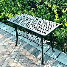 patio side table metal metal patio table patio furniture metal extraordinary patio side table metal outdoor