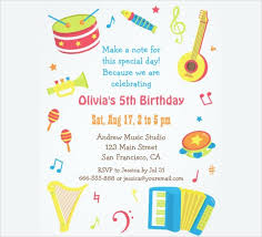Sample Invitation Card For Birthday Party 38 Kids Birthday