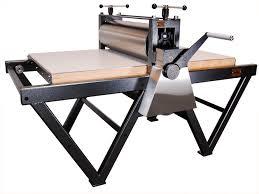 takach floor model etching press