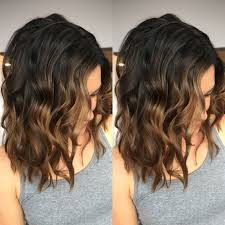 Light Brown Ombre Short Hair Dark Brown To Light Brown Balayage Short Hair Ombre Brown