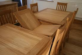 attractive oak dining table uk erfly extending tables extending oak dining tables