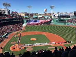 Red Sox Seating Chart Pavilion Box Fenway Park Section Pavilion Box 3 Home Of Boston Red Sox