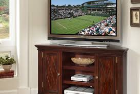 Tv : Corner Wooden Tv Cabinets Favorite Corner Tv Cabinet In Wood ...
