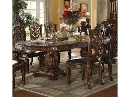 traditional wood dining tables. Simple Tables Acme Furniture VendomeFormal Dining Table  In Traditional Wood Tables R