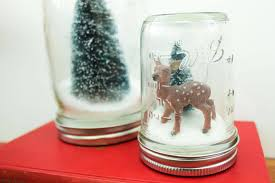 easy and inexpensive how to make anthropologie knockoff snow globes with mason jars and salt easy and inexpensive