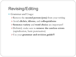 english i honors expository essay actions vs words revising  3 revising editing