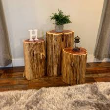 reclaimed tree stump