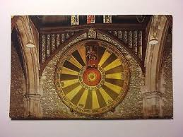 king arthur s round table winchester antique postcard posted