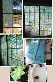 how to fake stained glass windows supplies tissue paper scissors mod podge a large bowl