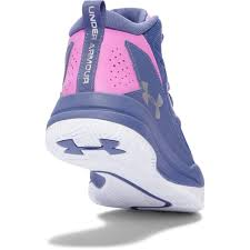 under armour girls basketball shoes. under armour girls\u0026rsquo; grade school jet mid basketball shoes - purple/violet/ under armour girls f