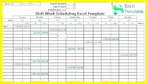 Schedule Maker Template