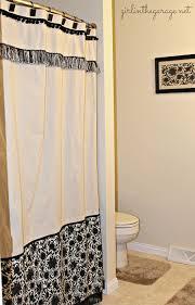diy shower curtain ideas. Fine Diy 2 Hereu0027s A Fun Frilly Curtain With Ruffled Embellishments With Diy Shower Curtain Ideas Y