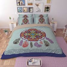 Dream Catcher Quilt Pattern Stunning Free Shipping Xmas Gift Dream Catcher Feathers Paisley Pattern