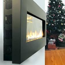 wall mounted ventless fireplace wall mount fireplace ed wall hung gas fireplace