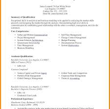 Internship Resume Template Sample For A Film Industry Word Student