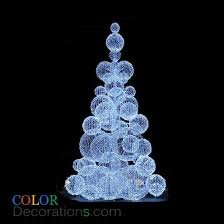Decorating Christmas Tree With Balls Extraordinary CDTR32 LED Christmas Tree Decoration Outdoor Ball Christmas Trees
