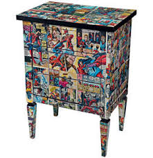 comic book furniture. via comic book furniture do it and how