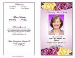 sample of obituary funeral program examples funeral programs sample blog