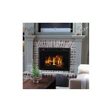 ventless electric fireplace insert