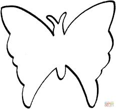 Geweldige Vlinder Kleurplaat Simpel Krijg Duizenden Kleurenfotos