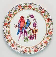 Claudette Bird Salad Plates eclectic dinnerware | Eclectic dinnerware,  Plates, Plates on wall