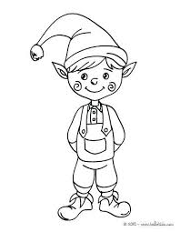 Christmas Elves Coloring Pages Trustbanksurinamecom