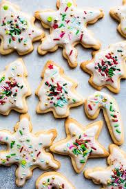 christmas sugar cookies. Plain Cookies Christmas Sugar Cookies On Sallysbakingaddictioncom Throughout Sugar Cookies M