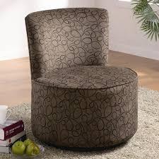 entertaining oversized round swivel chair black
