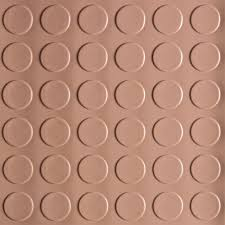 coin 10 ft x 24 ft sandstone commercial grade vinyl garage flooring cover and protector cover and protector