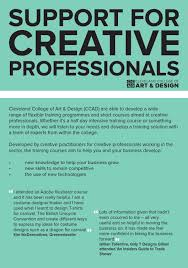 Cleveland College Of Art And Design Short Courses Support For Creative Professionals At Ccad By The Northern