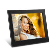 8 inch slim digital photo frame with auto slideshow feature main image