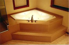 european corner whirlpool tub