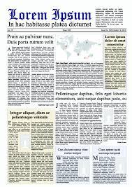 Creative Newspaper Design Elements Vector Set 02 For Free