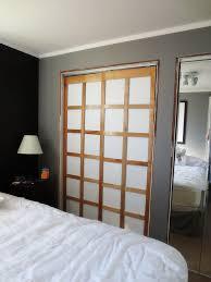 Mirror Closet Doors For Bedrooms Natural Modern Wood Closet Doors Roselawnlutheran