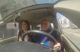 Risultati immagini per nonno e nipote in macchina