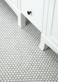 sacks savoy penny tiles with silver shadow grout white tile shower floor