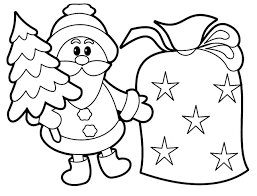 Santa Boot Template Coloring Page The Best Free Santa Coloring Images From