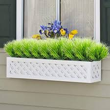 artificial plants faux plastic wheat grass fake leaves shubs outdoor window box whole greenery bushes indoor