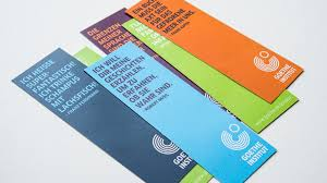 Old School Bookmarks Designed For The Goethe Institut London Library