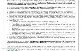 Operations Employee Employee Operations Manual Template