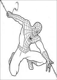 Disegno Di Spider Man Lancia Ragnatele Da Colorare Disegni Da