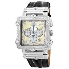 diamond men s watches shop the best deals for 2017 jbw men s phantom silver diamond and stainless steel watch