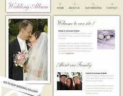 Wedding Website Template Fascinating 48 Free Lovely Wedding Website Templates Designfreebies