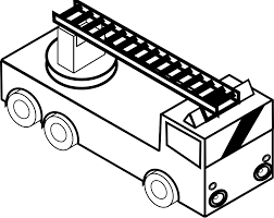Fire Engine Coloring Pages To Print Free Printable Truck For Kids
